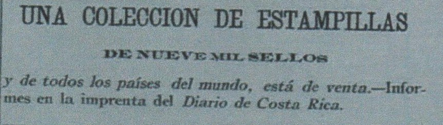Diario de CR 19 10 1897. Estampillas